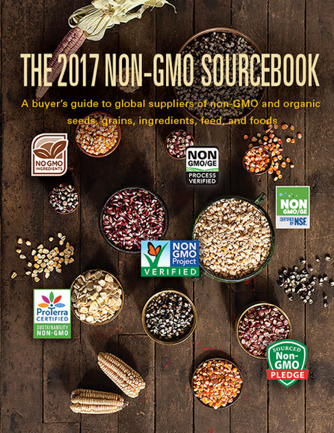 The Non-GMO Sourcebook features a directory of non-gentically modified agricultural and food products and suppliers